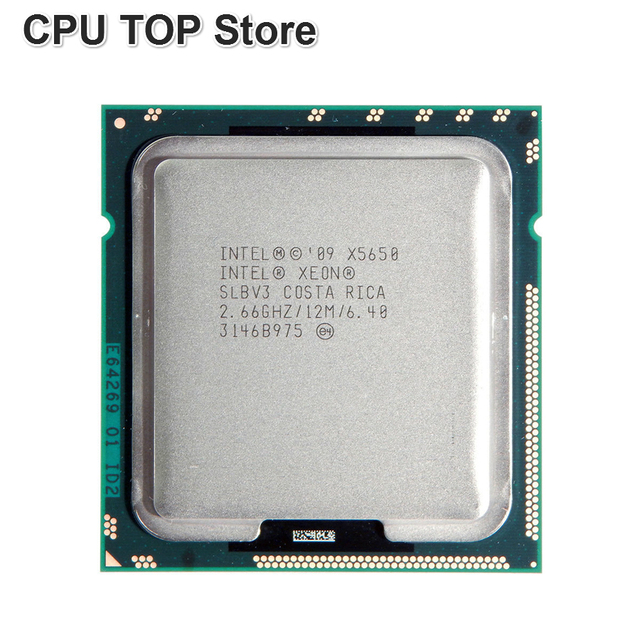 US $24 6 |Intel Xeon X5650 Six Core Processor 2 66GHz LGA1366 12MB L3 Cache  server CPU SLBV3-in CPUs from Computer & Office on Aliexpress com |