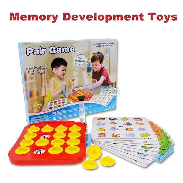 Juego de aprendizaje de memoria para niños, juego de juego, lector de tarjetas de Educación Temprana, juguete interactivo Montessori para padres y niños, juguetes de ajedrez, regalos