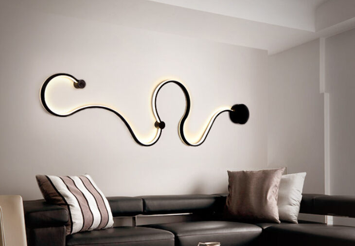 Moderne led wand lampe lamparas de techo pared applique murale
