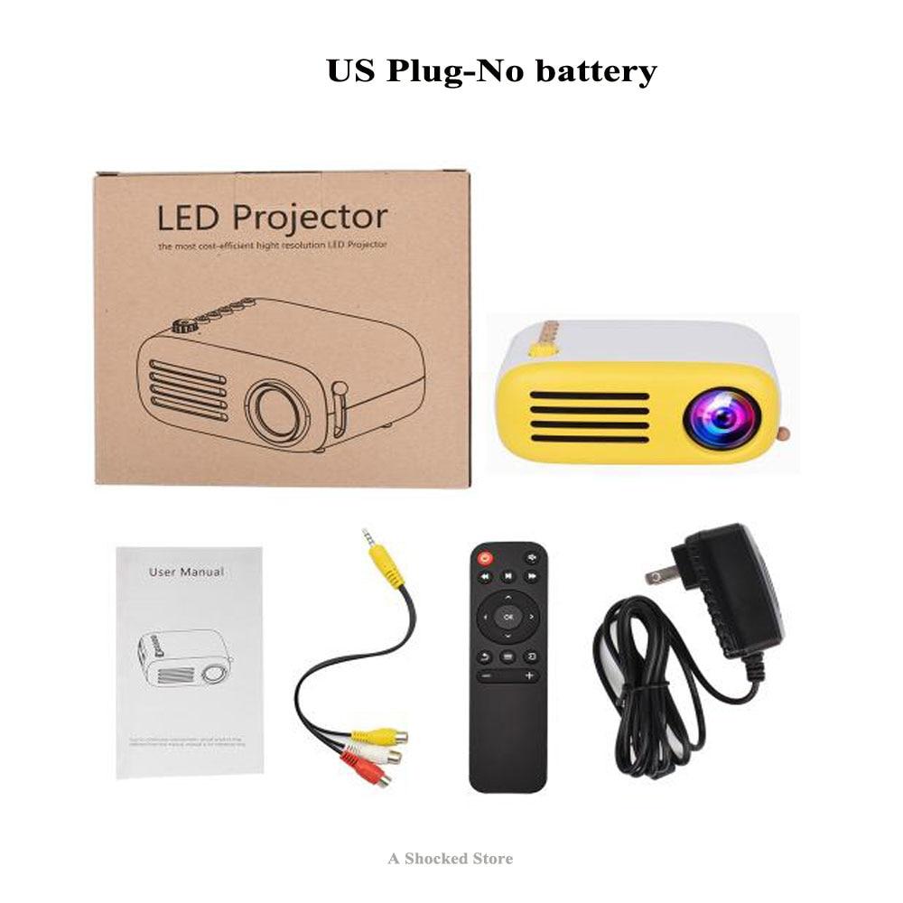 ec046a50ba62c8 Original YG300 YG310 Upgrade YG200 Portable Projector 500LM 3.5mm 320x240  HDMI USB YG 300 Mini Projector Home YG 300 Projector -in Projector  Accessories ...