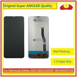 """Image 1 - Original 6.3 """"pour Samsung Galaxy M20 M205 M205F SM M205F/DS écran LCD avec écran tactile numériseur panneau approvisionné"""