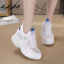 High Heel Wedges Platform Sneakers 10CM