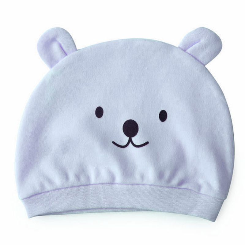 Beauty Winter baby hat spring unisex more colors cotton hats for children Cartoon baby animal cap Ramdon Color