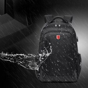 Image 4 - RUISHISABER Brand New 15 inch Laptop Backpack Women USB Charging Travel Backpack Men Oxford Waterproof Backpacks School Mochila
