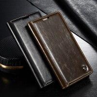 Oryginalny huawei mate 8 caseme case pokrywa najwyższej business style leather wallet etui do telefonów dla huawei ascend mate 8