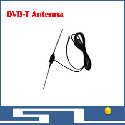 Free shipping DVB-T Antenna ,Rod antenna for digital TV HD TV HDTV DTV UHF Flat High Gain, DVB t ISDB ATSC radio receiver