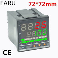 72*72mm Digital Temperature Controller Control AC85 265V Power Thermocouple Universial K J PT100 Input SSR Relay 4 20mA Output