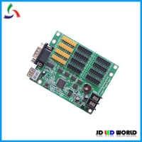 BX-5A3 usb とシリアルポート RS232 シングルおよびデュアルカラー led スクリーンコントローラ 8 グループ HUB12 と 4 が付属していグループ HUB08 ポート