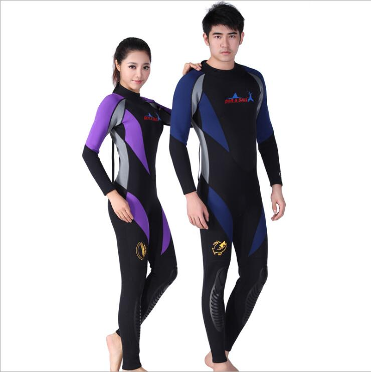 1 5mm men women spearfishing wetsuit conjoined uv surf for Women s ice fishing suit