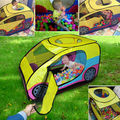 Lovely Cartoon play tent car large game Outdoor Indoor Kids Baby for Spring Camping Car toy tent Play House with 2 zipper