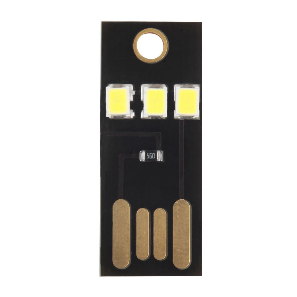 Mini USB Power LED Light Ultra Low Power 2835 Chips Pocket Card Lamp Portable Night Camp Touch Dimmer Warm/pure White Light