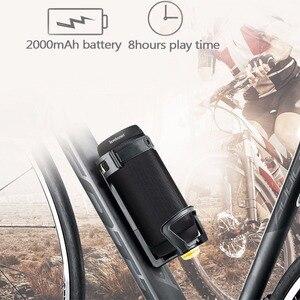 Image 4 - Хит продаж, цветной водонепроницаемый bluetooth динамик lewinner, беспроводной сабвуфер NFC с супербасами, звуковая коробка для занятий спортом на открытом воздухе, портативный динамик, fm динамик