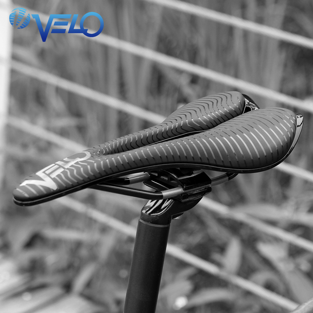Velo Angel Series Road Bike Saddle Lightweight Ti alloy Rear Bike Seat Gel Bicycle Saddle Cycling Racing Bicycle Saddle Seat Men in Bicycle Saddle from Sports Entertainment