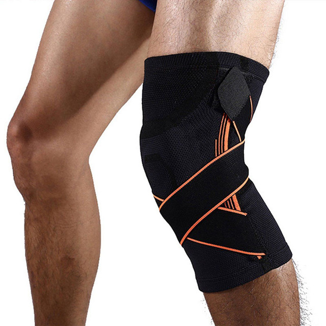 US $11 16 29% OFF 2 Pcs Instant Knee Support Brace For Running Sports  Jogging Meniscus Tear Arthritis Joint Pain Relief Injury ASD88-in Elbow &  Knee