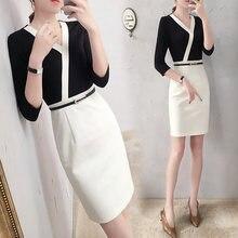 Summer short sleeve business suit slim ladies dress ol suit cosmetician uniform