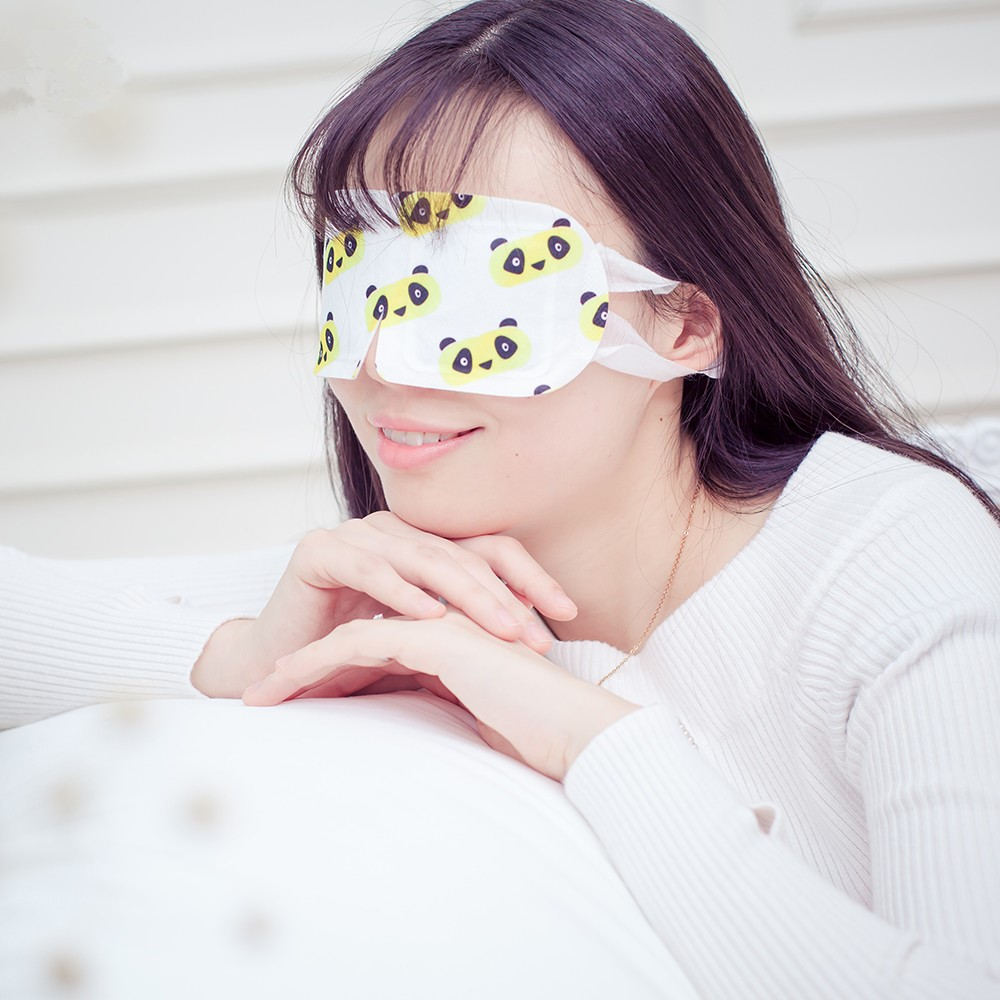 KONGDY 3 Bags Eye Mask for Sleeping With Steam Blcak Mask Add Essential Oil Moisturize Face Mask for Dry Eye Massage &Relaxation 4