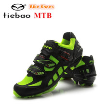 Tiebao Cycling Shoes Mountain Bike Shoes sapatilha ciclismo men zapatillas deportivas mujer Bicycle Shoes Sapatos de ciclismo