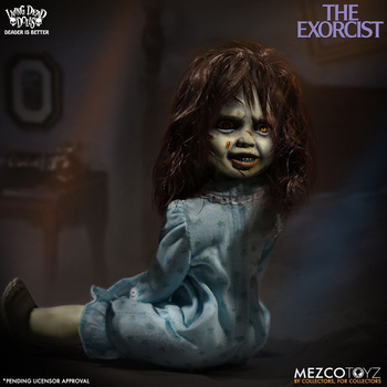 Classic Terror Film LDD Presents The Exorcist Living Dead Dolls Mezco Toyz 10 inch Action Figure Toys