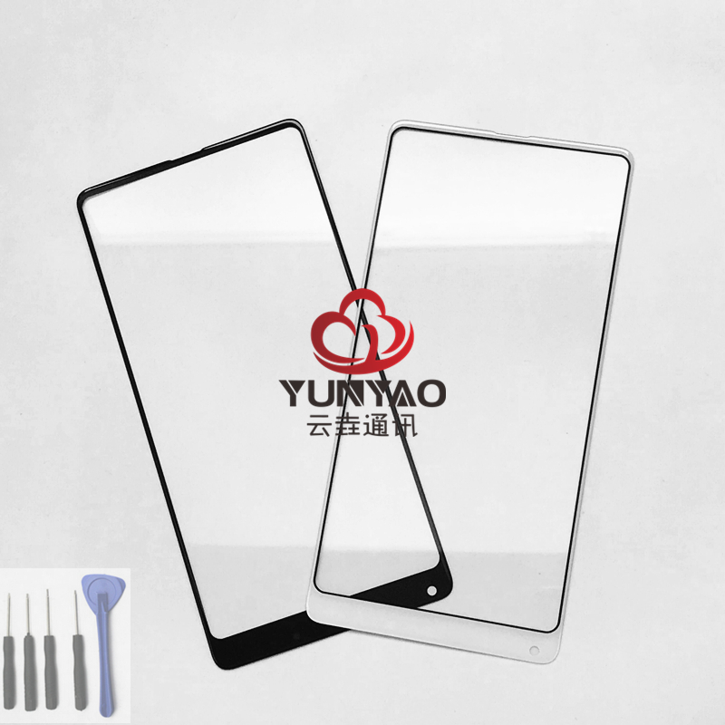 Replacement LCD Front Touch Screen Glass Outer Lens For xiaomi Mi Mix 2