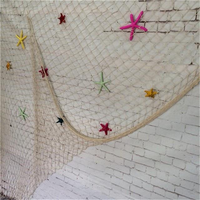Mediterranean Style Fishing Net Wall Decor 4