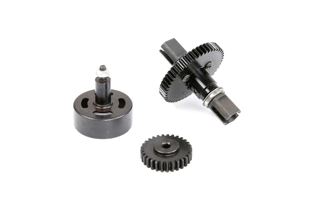 Metal Super Speed 29T 48T Gear Kit whit One-piece Hexagon Clutch Bell for losi 5ive-t rovan LT kingmotor truck parts