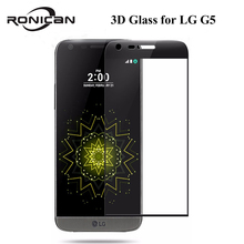 3D Curved Full Coverage 9H 0.3MM Tempered Glass Screen Protection Film For LG G5