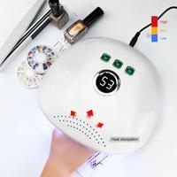 Sunx20 48W LED UV Lamp Nail Dryer For Curing Gel Polish Machine Manicure Lamp Light Fingernail Toenail Beauty Nail Art Appliance