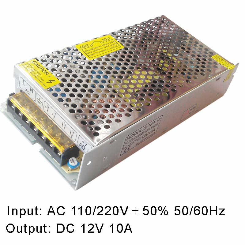 AC to DC10.3V-14V adjustable power switching supply 110V/220V AC to DC 12V 10A 120W meanwell 12v 350w ul certificated nes series switching power supply 85 264v ac to 12v dc