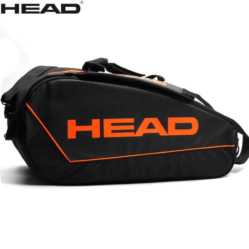 d6b8e5a5d05 2018 Head tennis bag raquete de tenis backpack Multifuntional sports Brand Backpack  gym bags For 3