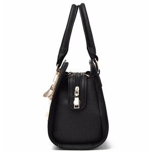 Image 2 - NUOVE donne di marca hardware ornamenti solido totes borsa della signora di alta qualità del partito della borsa di crossbody casuale sacchetti di spalla del messaggero