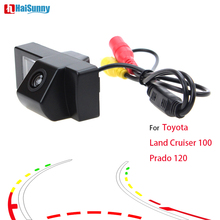 HaiSunny For Toyota Land Cruiser 100 Prado 120 Car Rear View Camera With Intelligent Dynamic Trajectory Tracks
