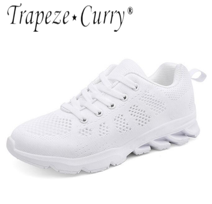 New Listing Hot Sale Summer Breathable Fly Line Women Running Shoes Sneakers 1808