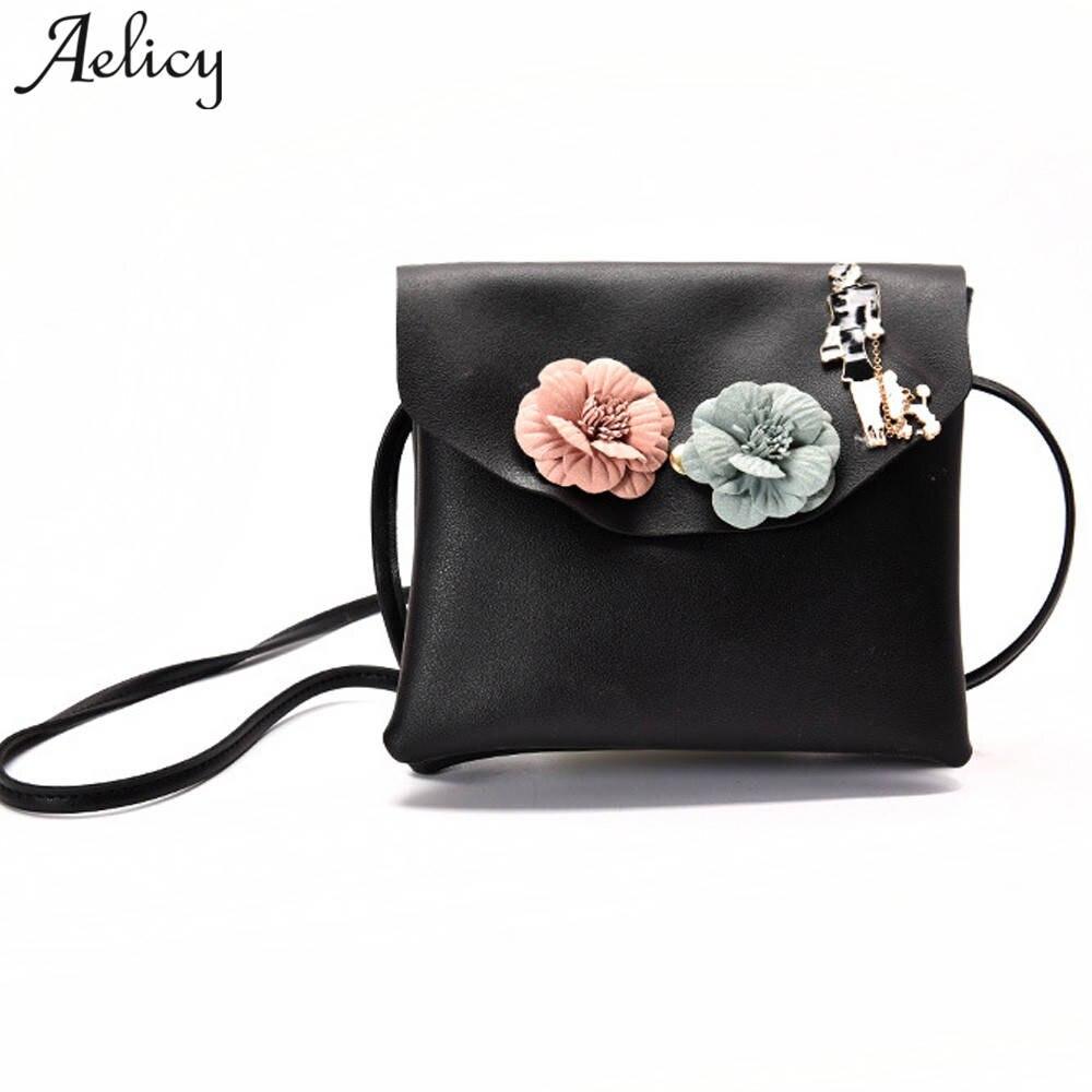 Aelicy мини Сумки на плечо Сумки Для женщин известных брендов цветами ручной работы сумка Для женщин сумки через плечо Bolsa feminina