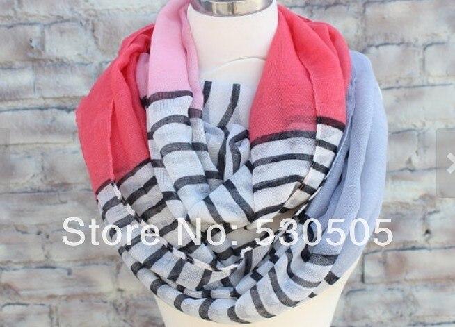 Bande Infinity écharpe pour femme excellent accessoire pour votre tenue  rose couleur 4025e3ae05d9