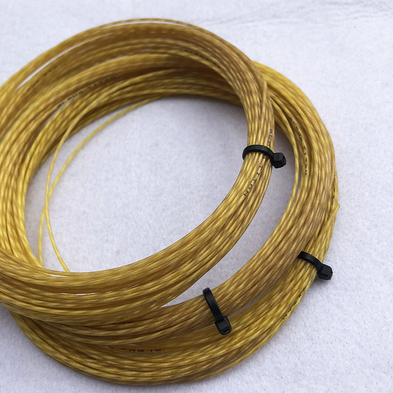 (2pcs/lot) ALPHA TITAN Tennis Nylon Composite Filament Strings Multifilament Elastic Tennis String 12M