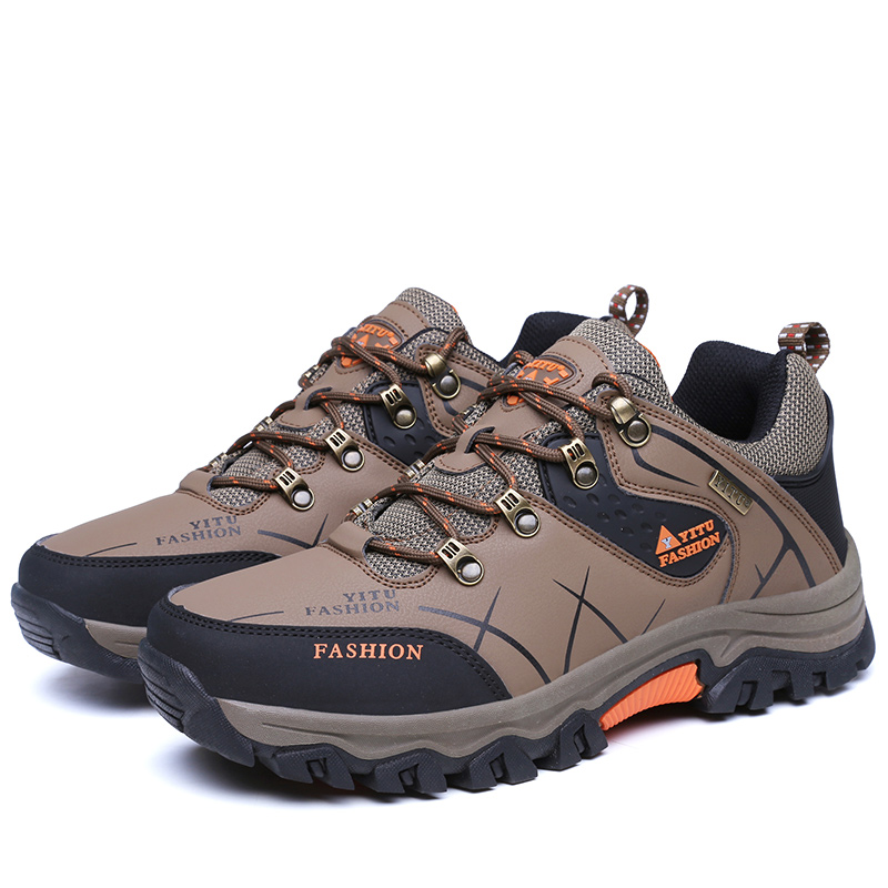 Здесь продается   Hot Sale Outdoor Sports Camping shoes for Men Tactical Hiking Upstream Shoes For Summer Breathable Waterproof Coating  Спорт и развлечения
