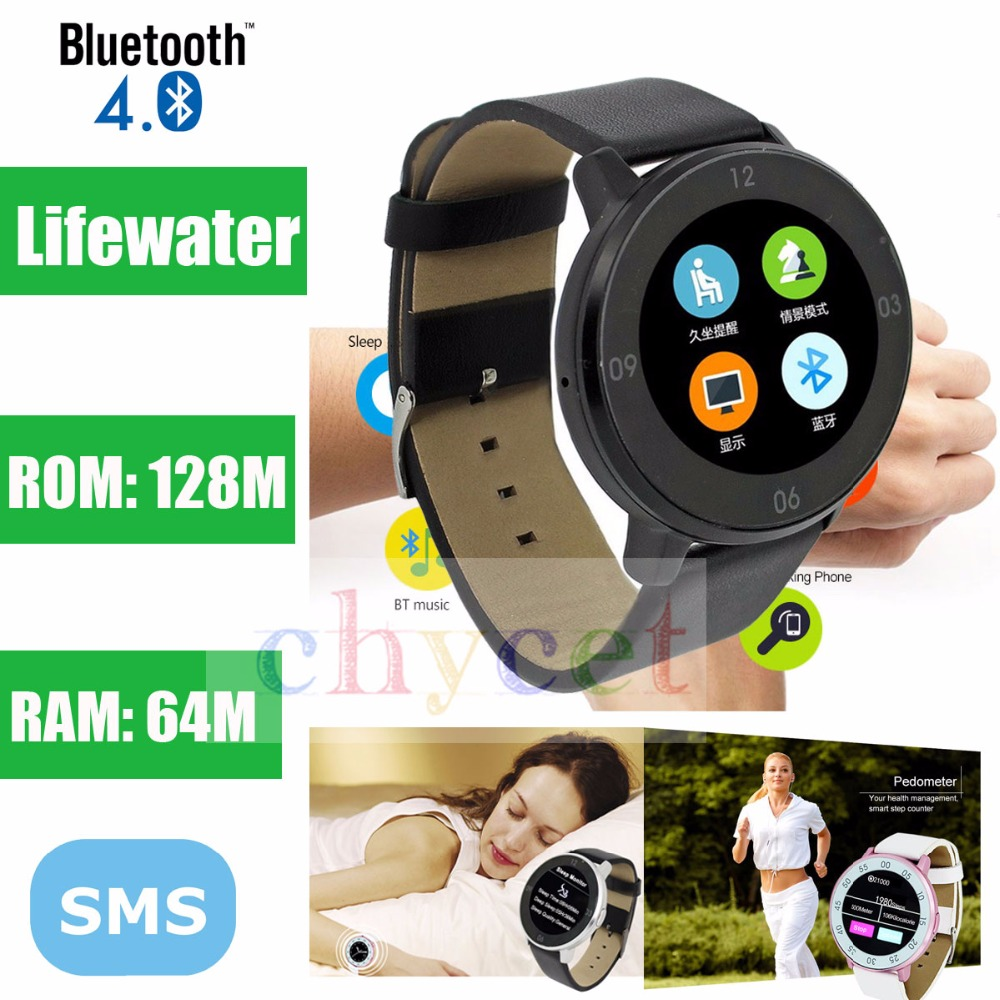 Original S366 Bluetooth 4.0 Wrist Phone Mate Smart Watch Pedometer HD Smartwatch Touch Screen Sports Wristwatch for Android IOS smart wrist watch heart rate monitor wristwatch pedometer remote camera bluetooth hd screen smartwatch for ios android phone men