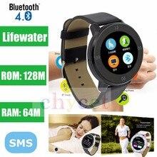 Original S366 Bluetooth 4,0 Handgelenk Telefon Paaren Smart Uhr Schrittzähler HD Smartwatch Touchscreen Sport Armbanduhr für Android IOS