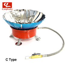 Windproof Stove for Camping Picnic With Extended Pipe 4 type Gas Stove