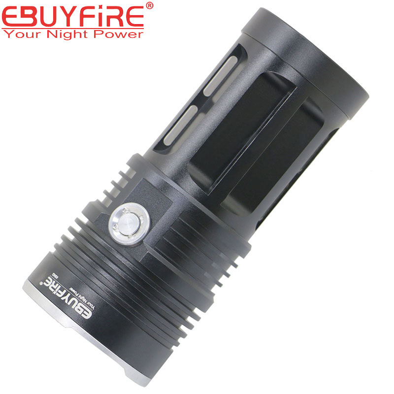 10T6 Flashlight 18650 Torch Lamp led flash light 20000LM 10T6 waterproof Lamp Lights Hunting lanterna (no battery 16t6 super powerful flashlight torch lamp led flash light 38000lm waterproof hunting lamp lights with rechargeable 18650 battery