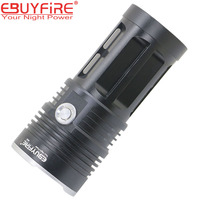 SKYRAY 20000LM Super Bright 10 CREE Led Flashlight 18650 10 X XMLT6 LED Waterproof Recharge Torch