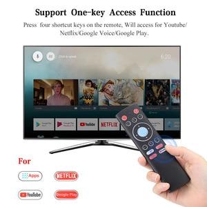 Image 2 - 미니 2.4G 무선 음성 에어 마우스 자이로 원격 제어 IR 학습 안드로이드 TV 박스 원 키 액세스 기능