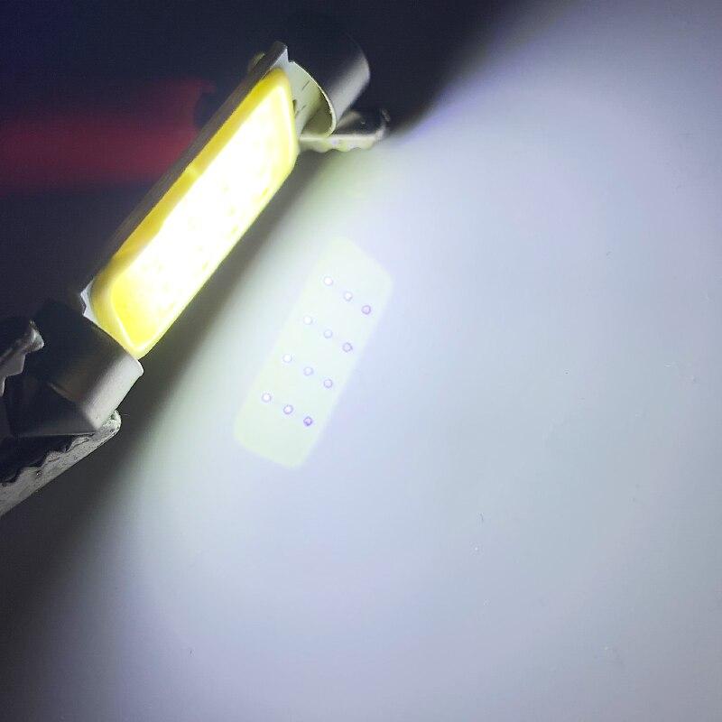 100X 12V24V Dome Festoon Light 31mm 36mm 39mm 42mm C5W Car Led COB 12 chip Auto super bright COB Festoon Dome Interior Light (1)