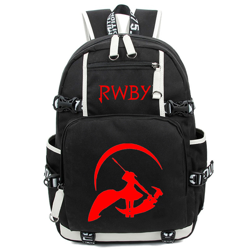 Anime Japan RWBY Backpack Women Men Cartoon Cosplay Shoulder Travel Laptop Book Bag for Teenagers anime tokyo ghoul cosplay anime shoulder bag male and female middle school student travel leisure backpack