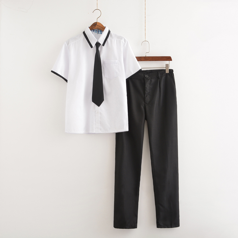 New Arrival Japanese School Uniform Boys Classic Service England Korean Sailor Suits Graduation High School Uniform S-3XL