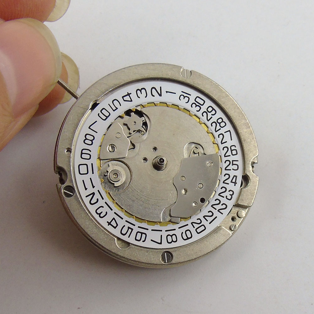 цена на Vintage Round Mechanical Automatic movement ST2555 small second hand date watch movement M7