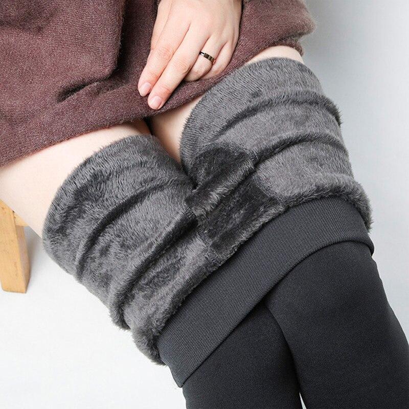 2018 Fashion Women Leggings High Waist Winter Warm Leggins Black Legins Mujer Woman Clothes Pants Workout Leggings Femme