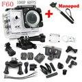 F60 Câmera de Esportes DV 4 K WiFi Allwinner V3 Full HD