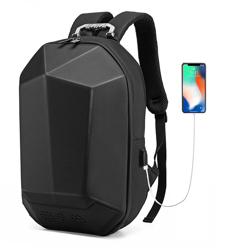 Geek Backpack USB Charging Bluetooth Music Bags 3