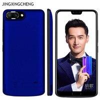 JINXINGCHENG ファッションバッテリー充電器 Huawei 社の名誉 10 6500 mah バッククリップバッテリー急速充電器